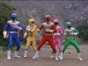 Power Rangers Zeo Power of Gold Power Rangers vs Wolfbane