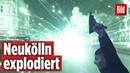 Kugelbomben Böller explodiert in Neukölln Silvester Krieg in Berlin
