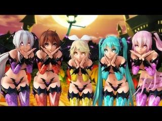 【MMD】 Kimagure Mercy / 気まぐれメルシィ  - Succubus Girls
