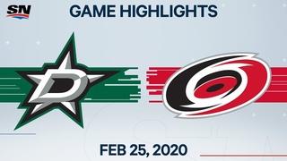 NHL Highlights   Stars vs. Hurricanes – Feb. 25, 2020