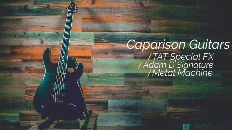 Caparison Guitars TAT Special FX Metal Machine Demo and Review