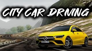 City Car Drivng - 2020 Mercedes-Benz CLA35 AMG | Custom SOUND | Logitech G27