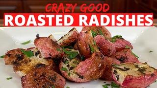 How To Roasted Radishes | Easy Oven Roasted Radishes  #shorts