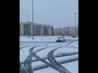 Зимний дрифт в Череповце.