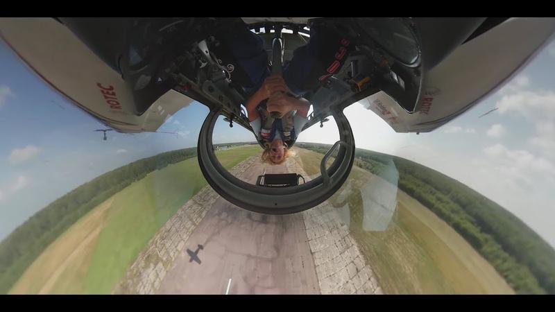 Чудеса на виражах Полет чемпионки мира по высшему пилотажу Светланы Капаниной ВИДЕО 360