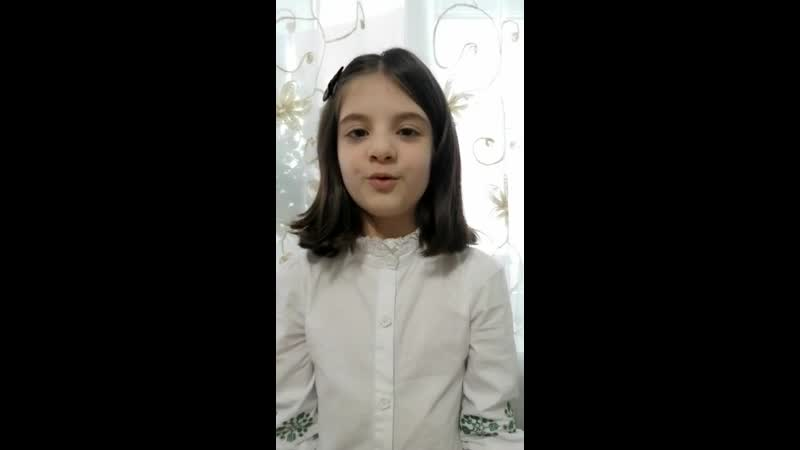 Ганбарова Айлин, 2Г класс