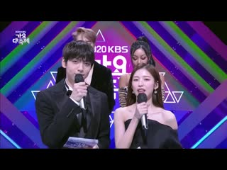 201218 Интервью Джексона и Джесси перед выступлением @ KBS Gayo Daechukje