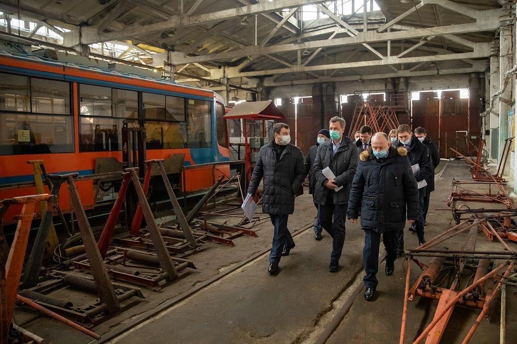Первый зампред Совета Федерации Андрей Яцкин с рабочим визитом посетил Таганрог