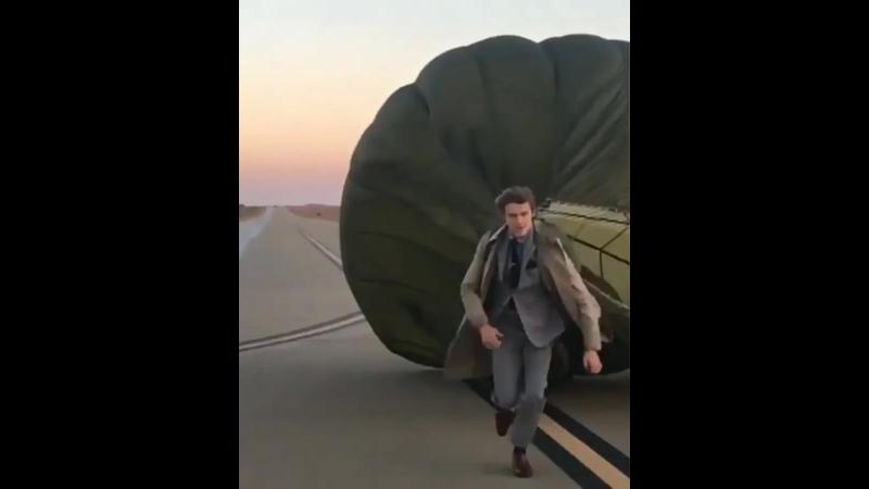 Видео с фотосессии для 1 сезона МакГайвера