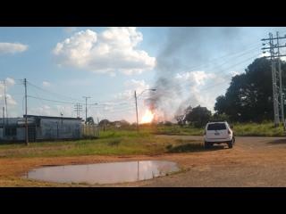 Дерзкий теракт в Венесуэле. Взрыв уничтожил государственный газопровод