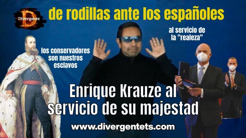 🔥 EnriqueKrauze recibe premio por sus servicios a la corona española 😯 Pululan los traidores⚔️🐀