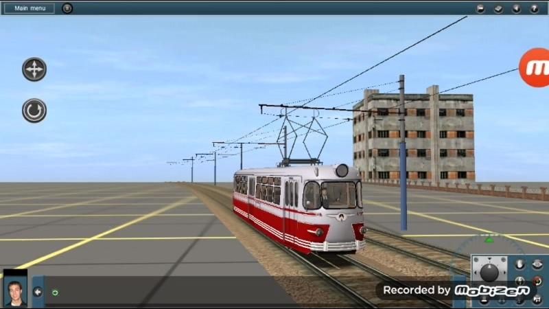 Покатушки на старом трамвае ЛМ57 по участку моей будущей карты из Промзоны в спальный район города.mp4