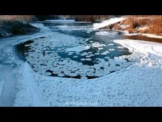 Ледяные диски -- Типичный Нижний Новгород