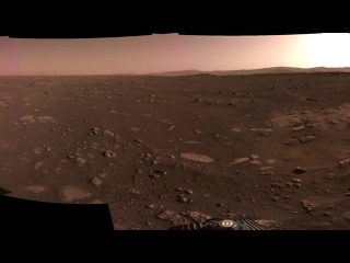 НАСА опубликовало панораму Марса от ровера Perseverance