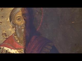 Экспозиция иконописи в Нижегородском художественном музее