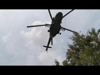 Российские сотрудники частной военной компании и многоцелевые вертолёты Ми-8АМТШ ВКС РФ, ЦАР, 10 января 2021 года#2