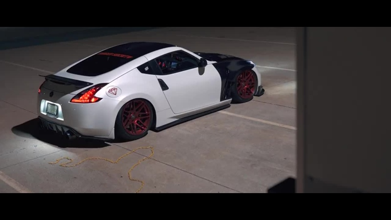 Andres Bagged 370z ¦ Perfect Stance