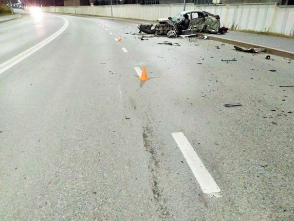 Водитель на Lexus устроил серьезное ДТП в Ханты-М...