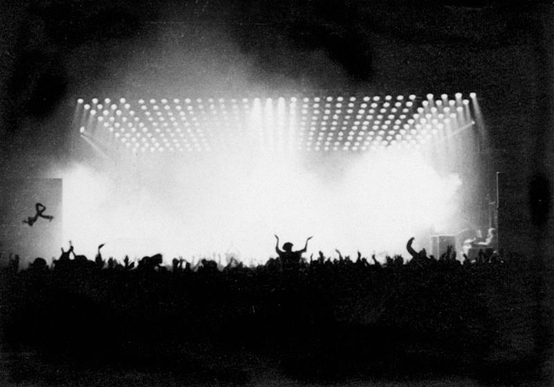 Queen: концерт в Загребе, Dom Sportova, 6 февраля 1979 года. Фото: Дражен Каленич