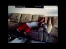 Разбудили парня с помощью петард. Видео прикол