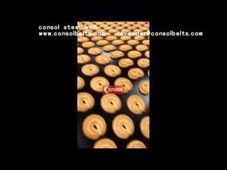 Цельнометаллическая конвейерная лента ПЕЧЕНЬЯ ЛЕНТОЧНЫЙ КОНВЕЙЕР Тоннельные печи стальной лентой