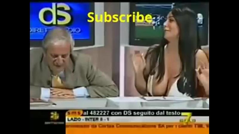 Boobs blooper on live tv --- Nipple slips ( 240 X 320 ).mp4