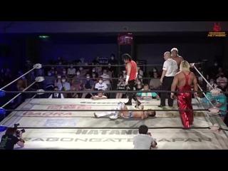 Team Toryumon (Naruki Doi & Shuji Kondo)  vs. . (Big R Shimizu & Eita)