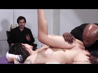 Brenna Sparks - black cuckold. Porn Порно Большие сиськи Измена С неграми Массаж