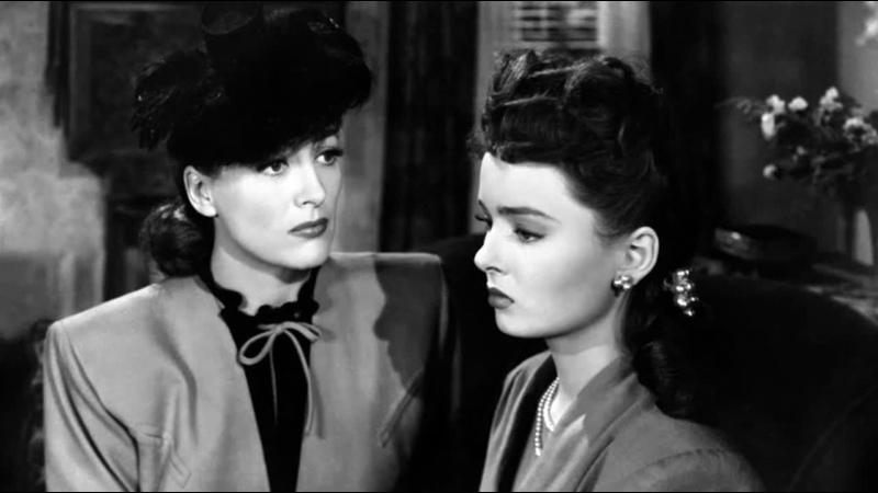 Милдред Пирс Mildred Pierce US 1945 в ролях Джоан Кроуфорд Закари Скотт Энн Блит фильм нуар мелодрама детектив
