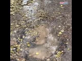 «Ручьи текут уже две недели»: керчане о потопе возле ж/д вокзала