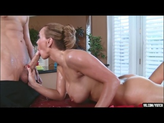 [ТРАХНУЛ МИЛФУ НА МАССАЖЕ] Tanya Tate Bruce Venture - Dirty Massage Instruction BRAZZERS [массаж sex porno deep oral] casting, a