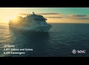 MSC Grandiosa - Ship Visit KMozAovcvvo