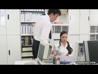NewOfficeLady - Ai Kamijou has her first day in the office and gets fucked by the boss / Ai Kamijou