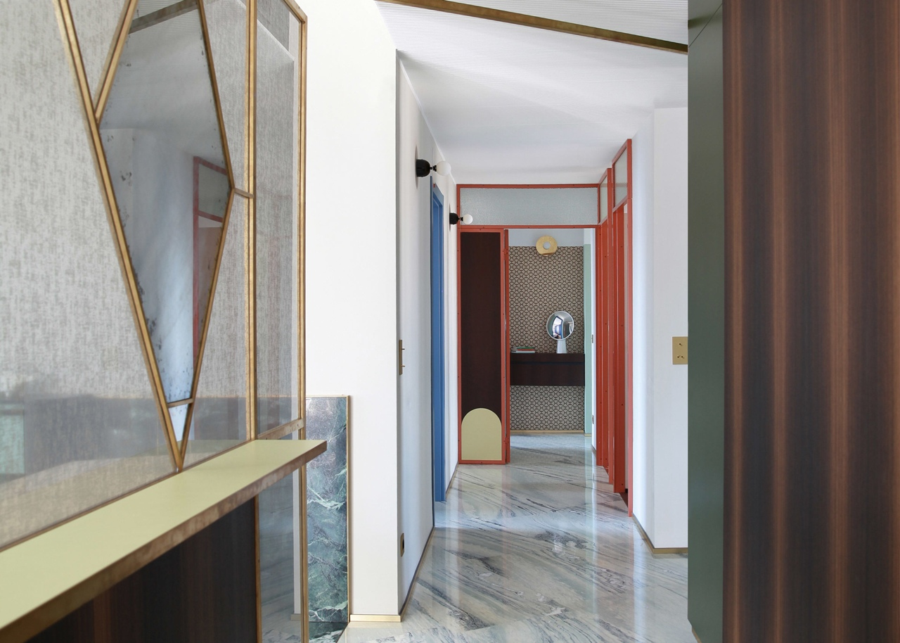 Marcante-Testa uses marble to merge living spaces in Teorema Milanese apartment