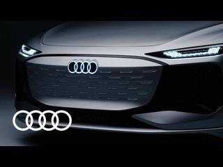 The Audi A6 e-tron concept: luxury-class design electrified