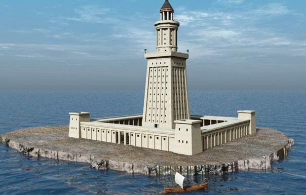 Найден механизм с Александрийского маяка Подводные археологи обнаружили на дне Александрийской бухты обломки бронзового механизма. Предположительно этот механизм мог быть частью осветительной