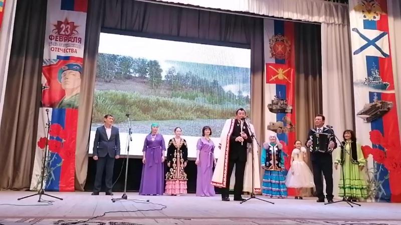 Хәсәновтар ғаилә ансамбле 20 02 2020 Нуғайҙарҙың концерты төшөрҙө Г Хурматовна