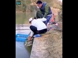 Вот такая рыбалка и закончилась