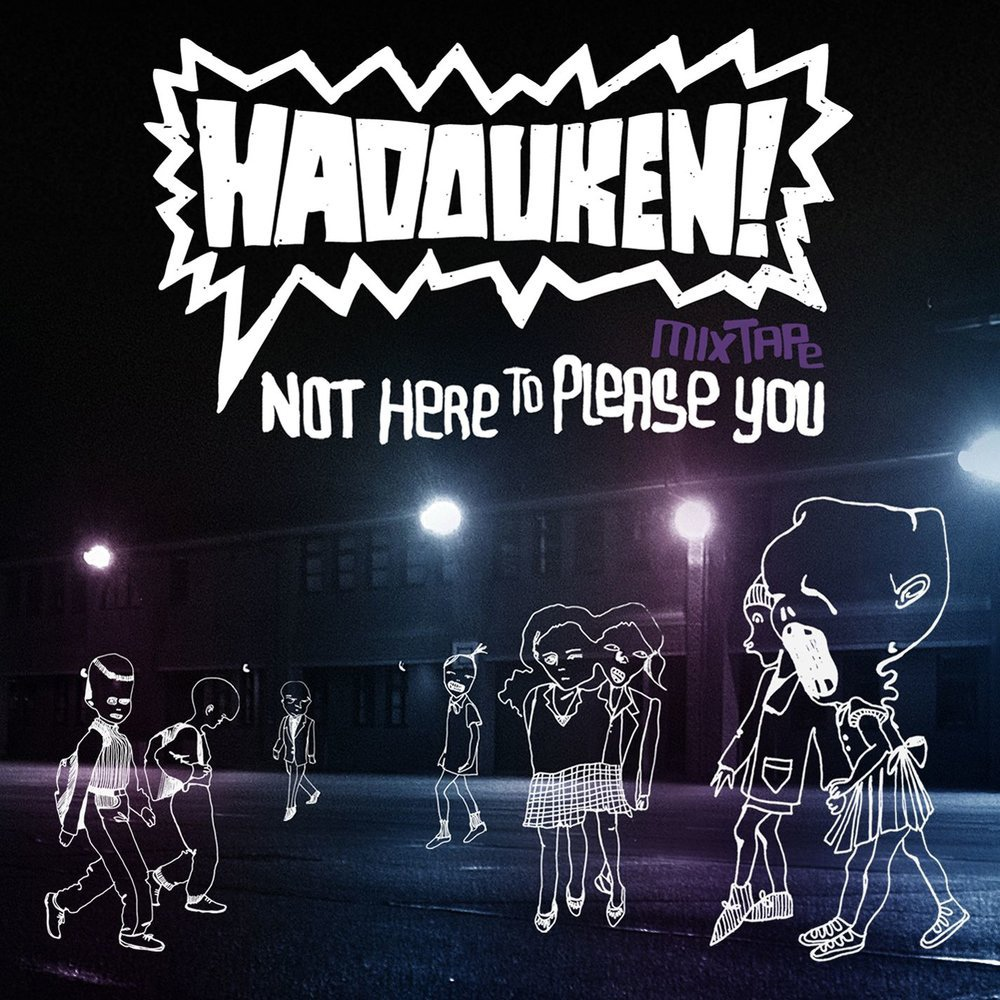 Hadouken! album Not Here to Please You