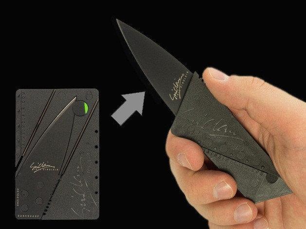 Складной нож кредитка CardSharp изделие, | Объявления Орска и Новотроицка №28341