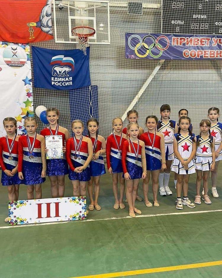 В Петровске состоялись Открытые соревнования по чир спорту «Сияние»