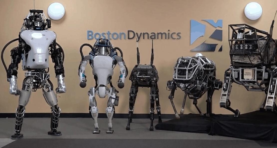 Роботы США