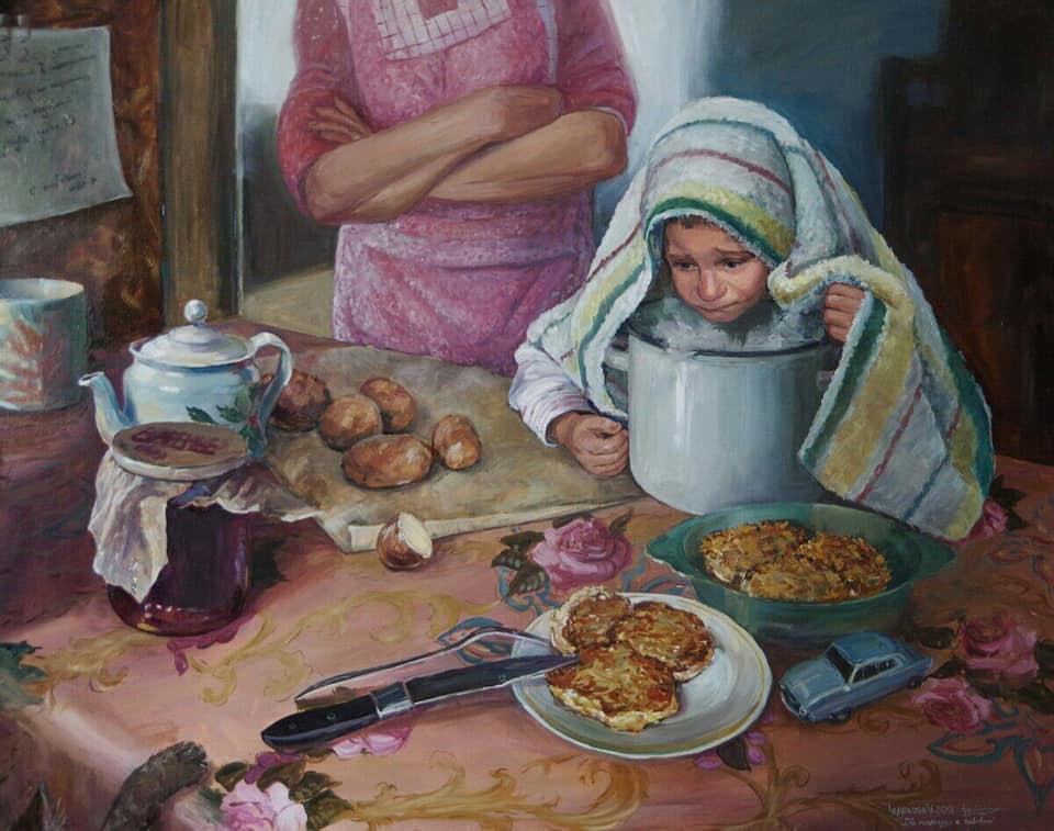 Картина Анастасии Чудаковой.