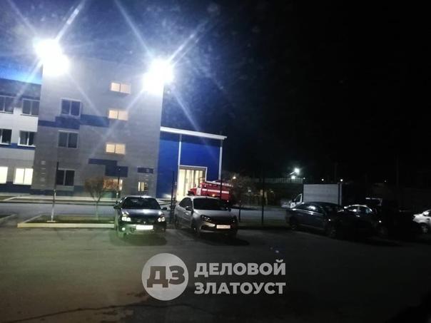 ЧП на заводе «Грани Таганая»  В районе 23:00, 16 о...
