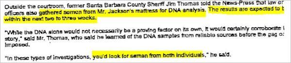 Судебные документы о деле 1993 года и злонамеренном преследовании Майкла Джексона., изображение №7