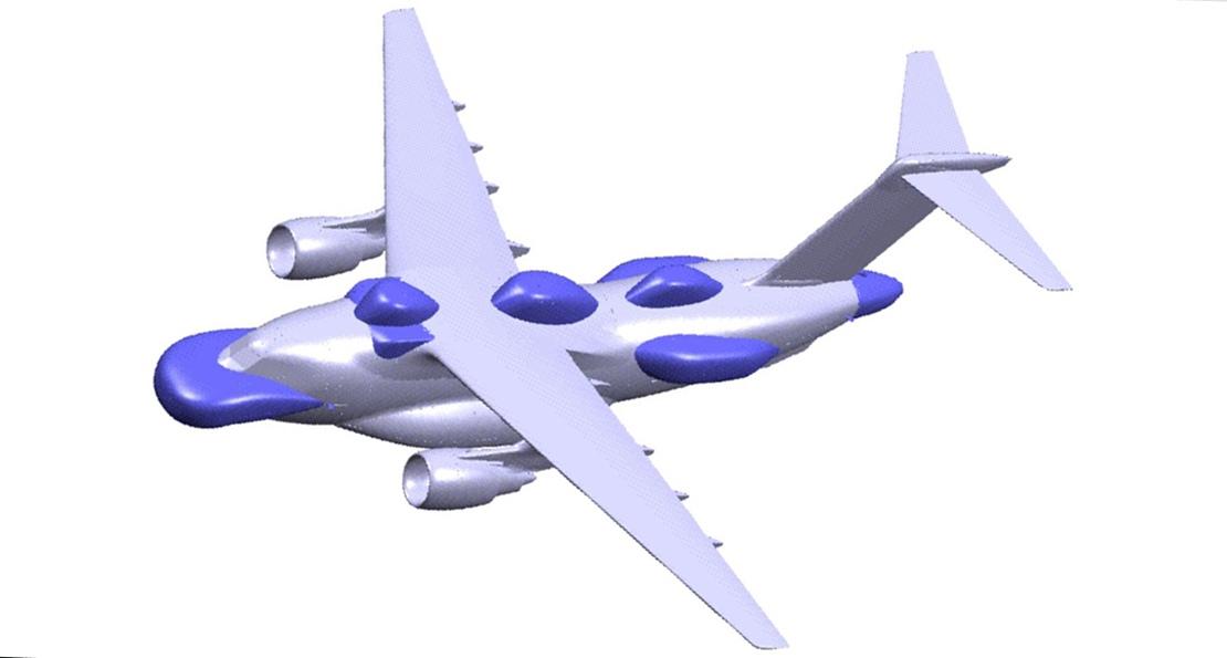 Самолет Сил самообороны