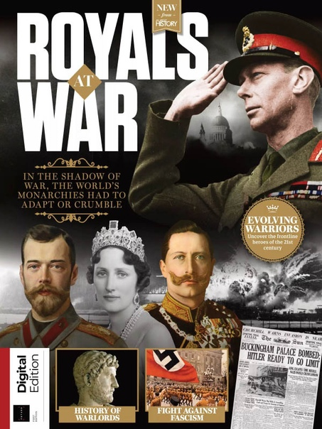 All About History - Royals At War 1st Edition  2021