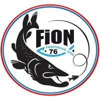 """Логотип РЫБОЛОВНЫЙ КЛУБ """"FION_76"""" Рыбалка в Ярославле"""