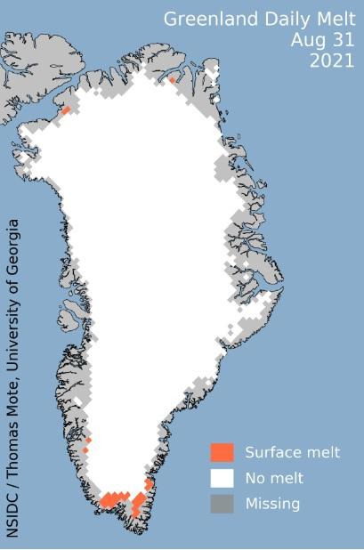 Глобальная катастрофа заморозила Гренландию в 17 веке