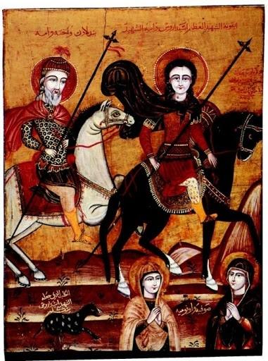 Работы Юханны аль-Армани в Коптских храмах